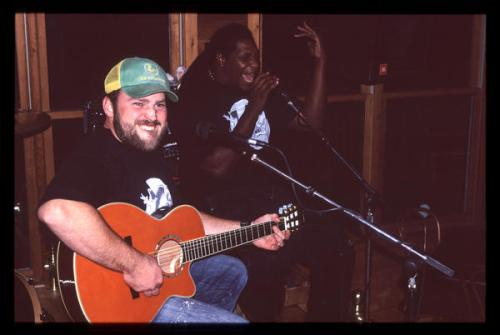 Zac Brown playing at Zac's Place in Lake Oconee, GA